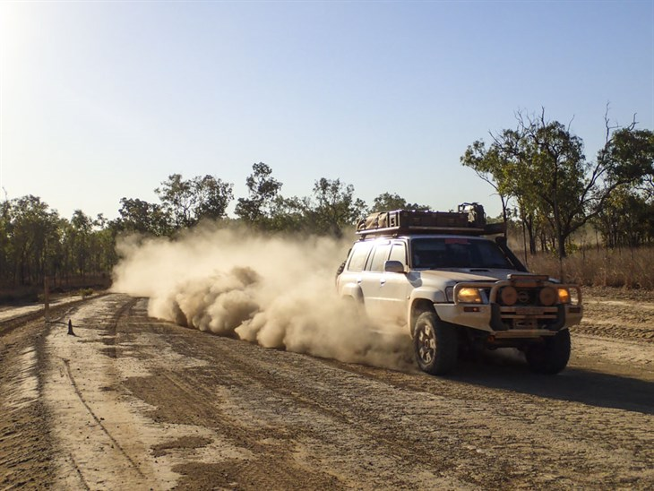 Bulldust In Lakefield National Park