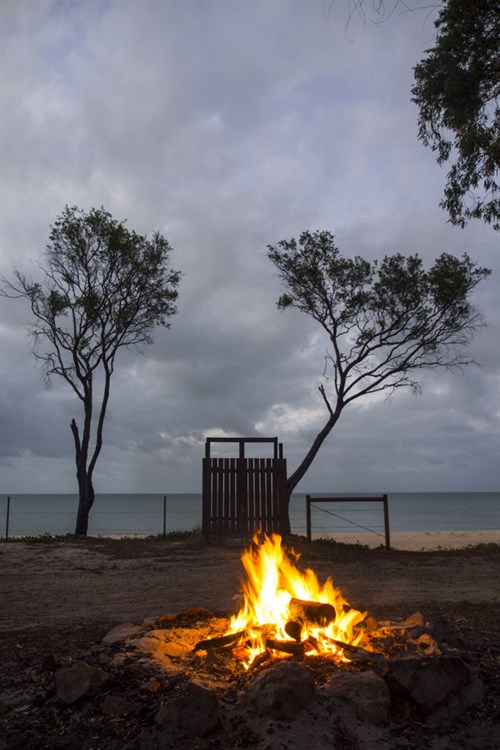 Punsand Bay Beachside Fire