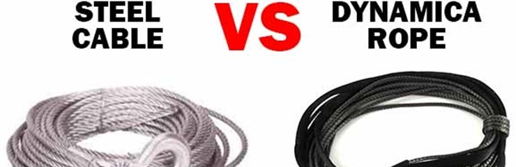 Winch - Steel Cable VS Dynamica Rope