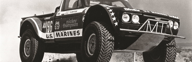 Mickey Thompson's U.S. Marines Chevy LUV Truck