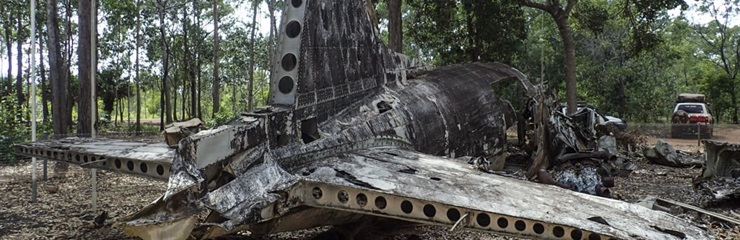 Plane Wrecks & heading south (Bramwell)