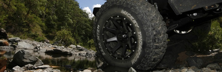 Mickey Thompson tyres built with tough skin