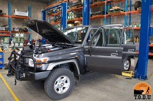 Vehicle Prep - Cooper Tires Australia