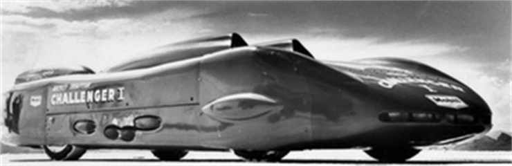The Legend Sets A New Land Speed Record; 406.6 MPH (654 KMPH)
